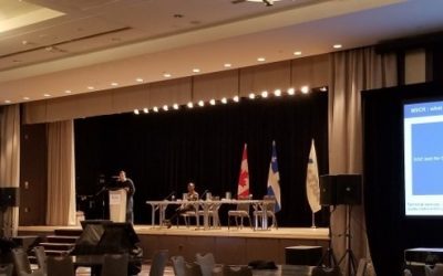 Conférence au Canadian Technical Asphalt Association